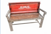 Gmc Truck Tailgate Garden Bench, Outdoor Furniture, Garden Bench