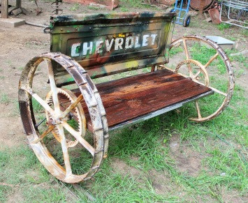 Recycled Salvage Design Mixed Media Artist Raymond Guest
