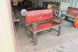 Recycled Art Furniture Studebaker Truck Bench