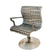 Metal Accent Chair Industrial Chic Or Steampunk Style Furniture