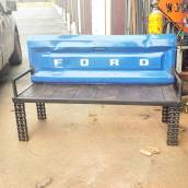 Outdoor Furniture - Garden Benches - Truck Tailgate Bench